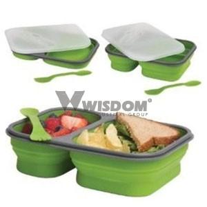 Silicone Lunch Box W2503