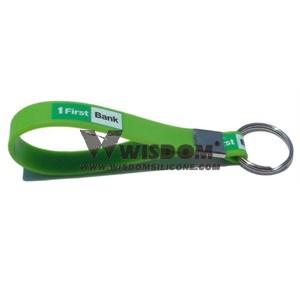 Silicone Key Chain W1904