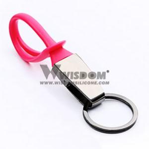Silicone Key Chain W1905