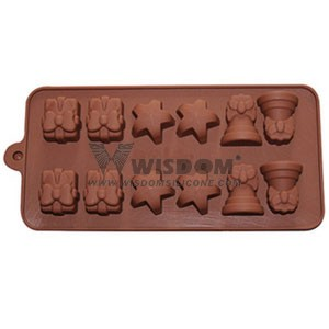 Silicone Chocolate Mold W2120