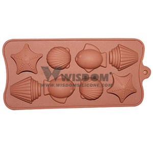 Silicone Chocolate Mold W2121