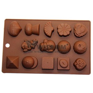 Silicone Chocolate Mold W2122