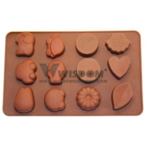 Silicone Chocolate Mold W2123