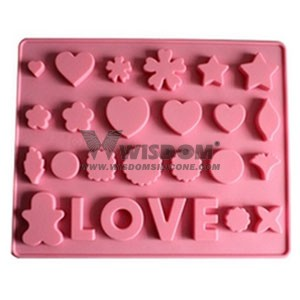 Silicone Chocolate Mold W2129