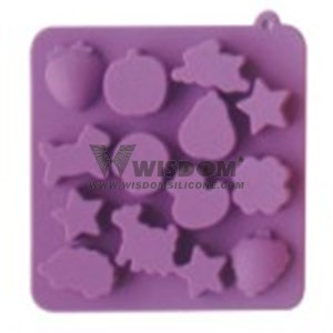 Silicone Ice Cube Tray  W2106